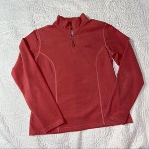The North Face fleece pullover 1/4 zip